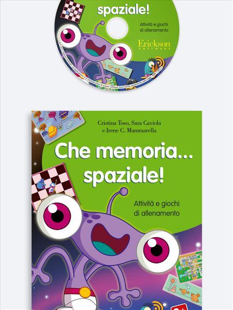 Che memoria… spaziale! - App e software per Scuola, Autismo, Dislessia e DSA - Erickson