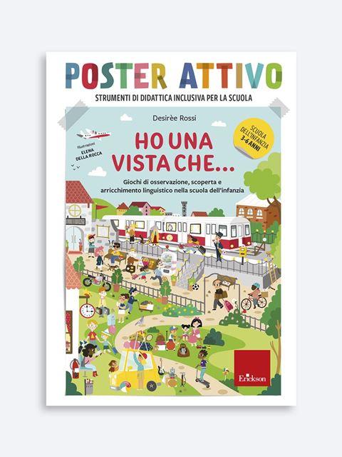 POSTER ATTIVO - Ho una vista che... - Genitorialità: libri sul rapporto genitori e figli - Erickson