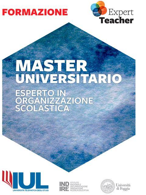 Esperto in Organizzazione Scolastica - Master - Erickson