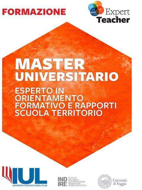 Esperto in Orientamento Formativo e Rapporti Scuola Territorio - Master e corsi perfezionamento per insegnanti - Expert Teacher