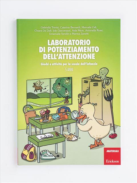 Laboratorio di potenziamento dell'attenzione - App e software per Scuola, Autismo, Dislessia e DSA - Erickson
