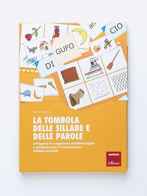La tombola delle sillabe e delle parole - Libri di didattica, psicologia, temi sociali e narrativa - Erickson