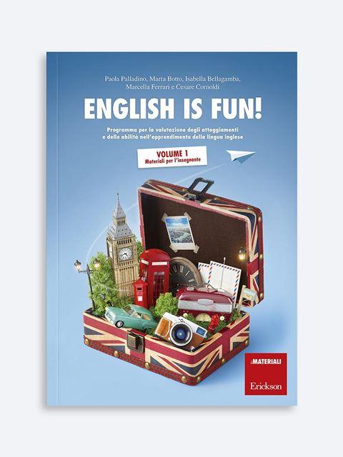 English is fun! Volume 1 - Libri di didattica, psicologia, temi sociali e narrativa - Erickson