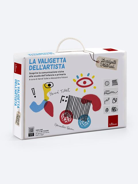 La valigetta dell'artista - Le valigette dei materiali - Erickson