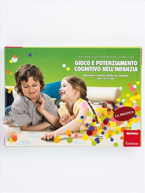 Gioco e potenziamento cognitivo nell'infanzia Strumento - Erickson Eshop