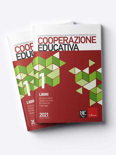 Cooperazione Educativa - Annata 2021 - Riviste di didattica, logopedia, psicoterapia, anche digitali - Erickson