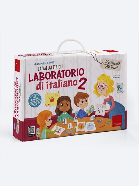 La valigetta del LABORATORIO DI ITALIANO 2 - Giochi educativi e didattici da fare in classe - Erickson