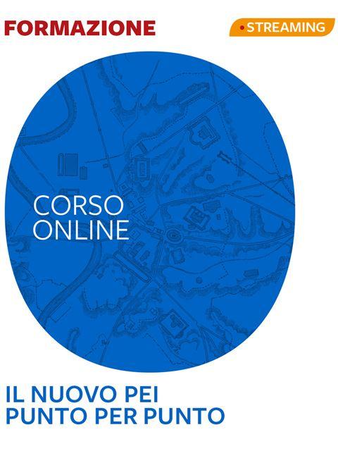 Il nuovo PEI punto per punto Iscrizione Corso online - Erickson Eshop