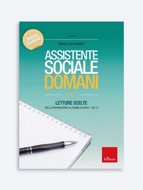 Assistente sociale domani - Volume 1 Libro - Erickson Eshop