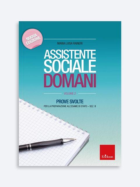 Assistente sociale domani - Volume 2 Libro - Erickson Eshop