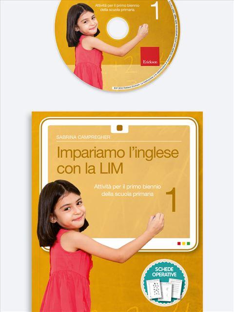Impariamo l'inglese con la LIM 1 - Lingue straniere - Erickson