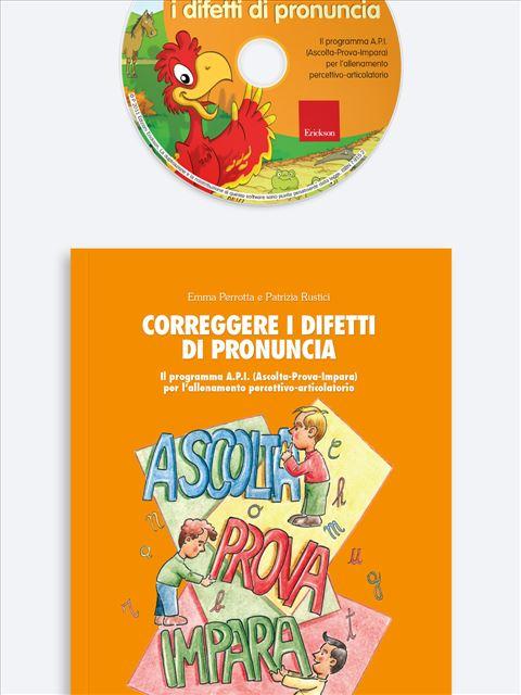 Correggere i difetti di pronuncia - App e software per Scuola, Autismo, Dislessia e DSA - Erickson 3