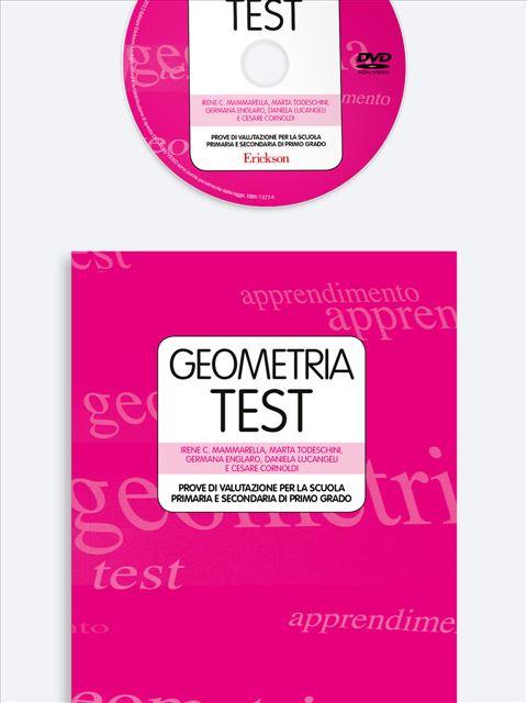 GeometriaTest - Prove di Valutazione per la scuola primaria e secondaria di primo grado - Test diagnosi autismo, asperger, dislessia e altri DSA - Erickson