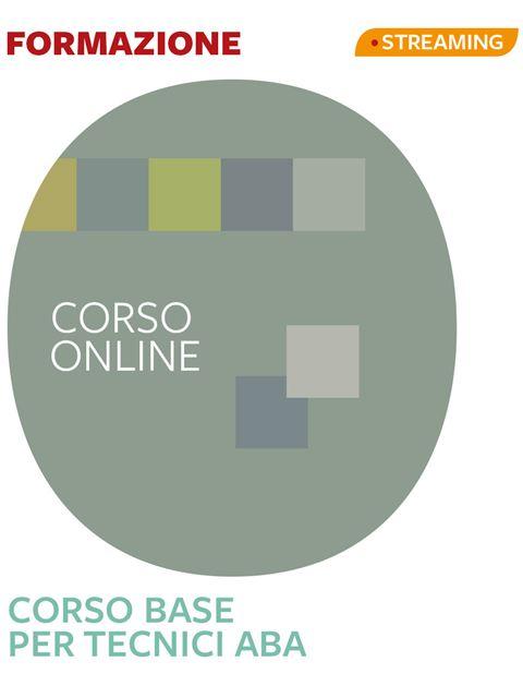 Tecnico ABA-VB - Corso Base - Corsi professionalizzanti - Erickson