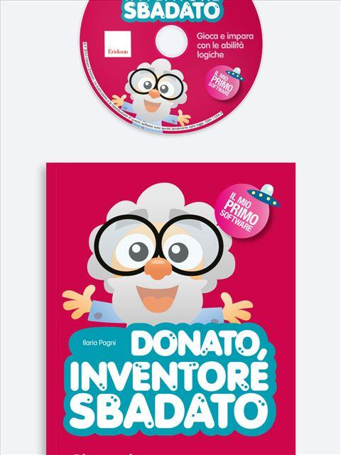 Donato, inventore sbadato - App e software per Scuola, Autismo, Dislessia e DSA - Erickson