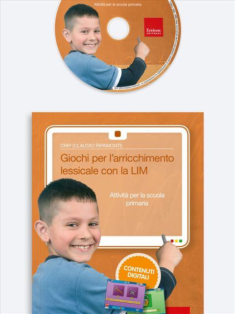 Giochi per l'arricchimento lessicale con la LIM - App e software per Scuola, Autismo, Dislessia e DSA - Erickson