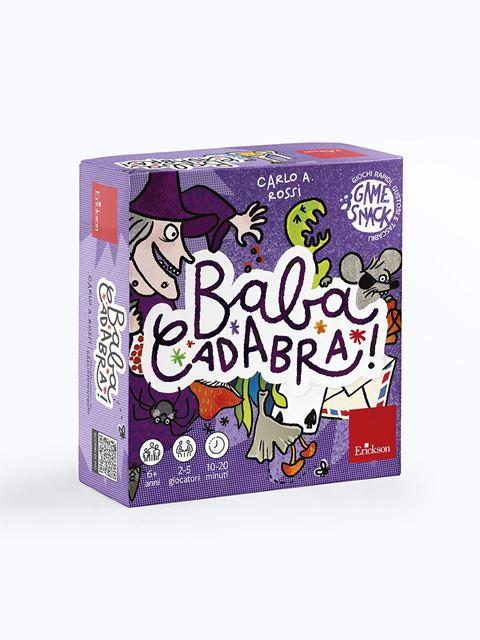Babacadabra - Giochi Educativi, istruttivi e divertenti per bambini - Erickson