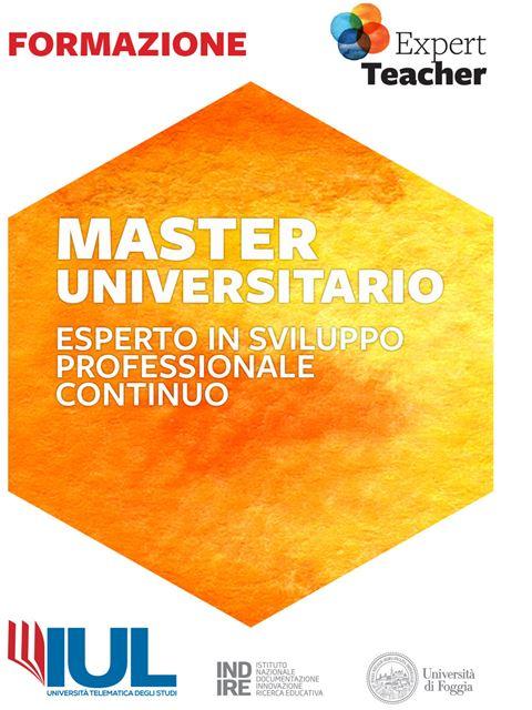 Esperto in sviluppo Professionale Continuo - Master e corsi perfezionamento per insegnanti - Expert Teacher