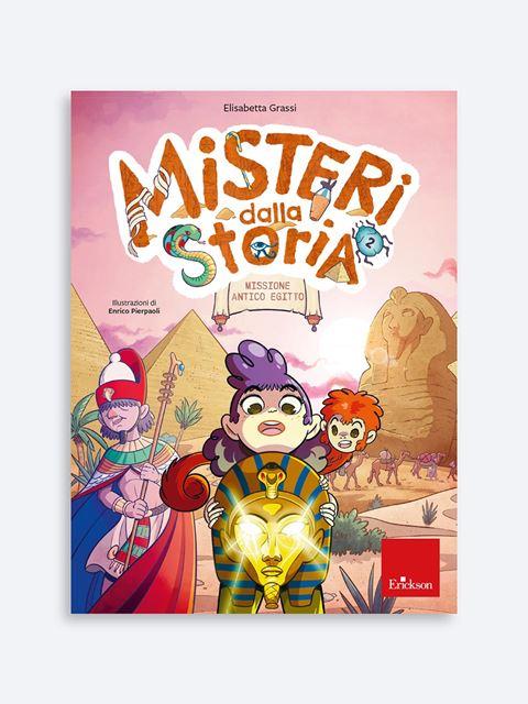Misteri dalla storia - Classe quarta - Libri per la Scuola Primaria per bambini e insegnanti - Erickson
