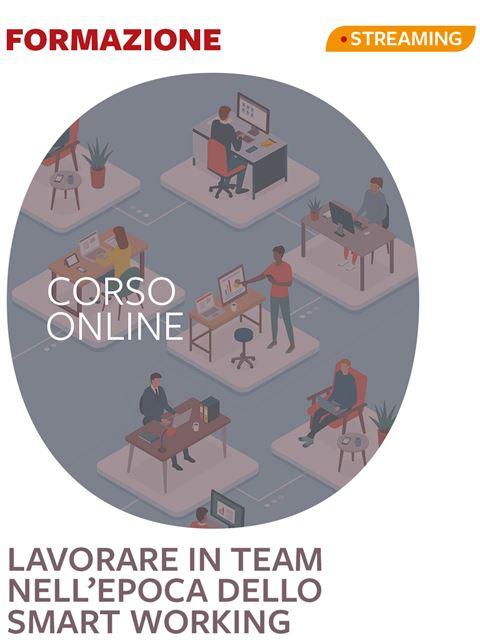 Lavorare in team nell'epoca dello smart working - Assistente sociale - Erickson