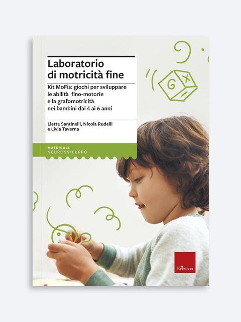Laboratorio di motricità fine - Libri sui prerequisiti per il passaggio dalla scuola dell'infanzia alla primaria