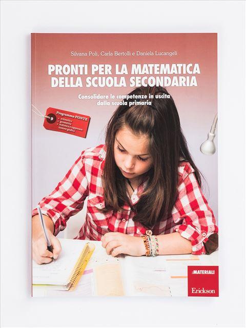 Pronti per la matematica della scuola secondaria - Libri per i compiti delle vacanze |  Classe quinta elementare