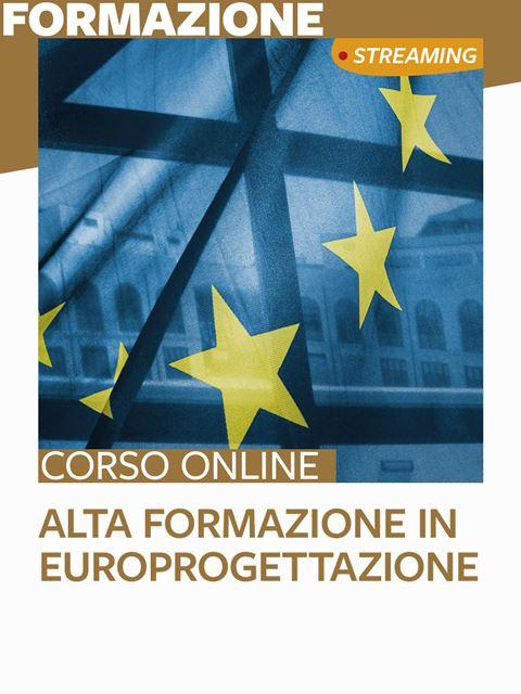 Alta formazione in Europrogettazione - Search-Formazione - Erickson