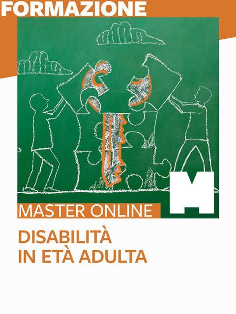 Master - Disabilità in età adulta - Search-Formazione - Erickson