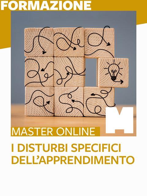 Master - Disturbi Specifici dell'Apprendimento - Formazione per docenti, educatori, assistenti sociali, psicologi - Erickson