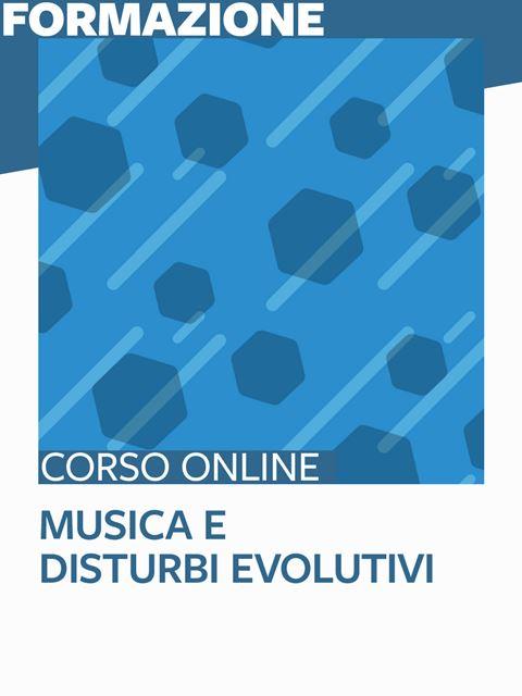 Musica e disturbi evolutivi - Search-Formazione - Erickson