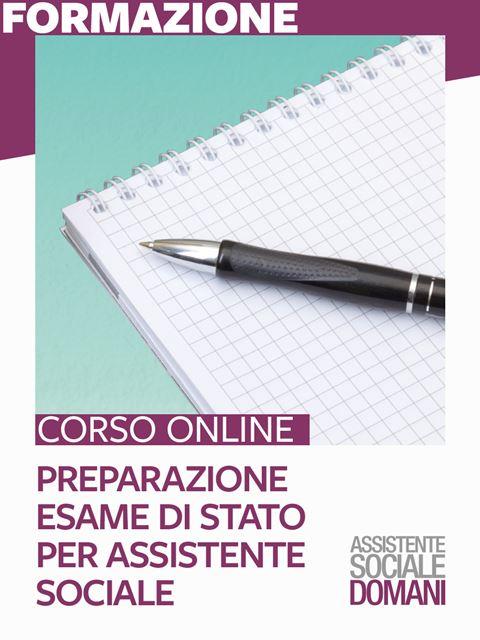 Preparazione Esame di Stato per Assistente Sociale - Search-Formazione - Erickson