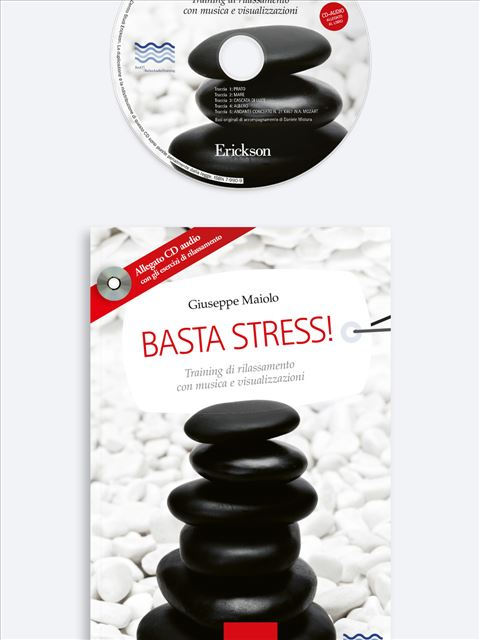 Basta stress! Libro + CD-Audio - Erickson Eshop