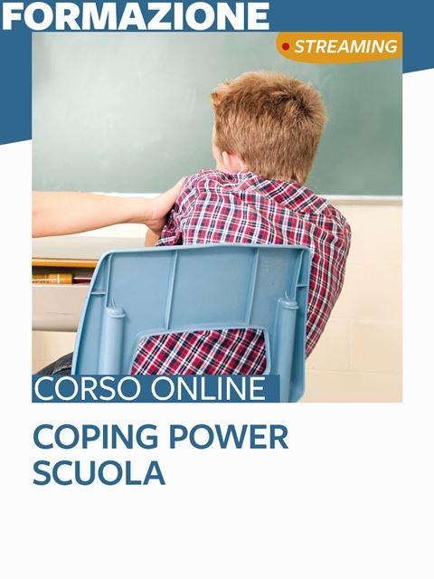 Coping Power Scuola - Search-Formazione - Erickson