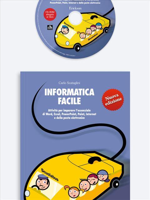 Informatica facile - Volume 1 - Il laboratorio di... italiano - Volume 2 - Libri - Erickson