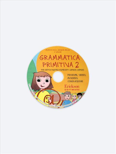 Grammatica primitiva - Volume 2 - App e software per Scuola, Autismo, Dislessia e DSA - Erickson 2