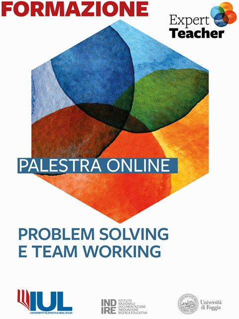 Problem Solving e Team Working - Palestra online Expert Teacher - Dirigente scolastico - Erickson