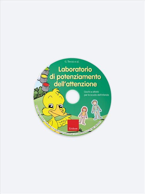 Laboratorio di potenziamento dell'attenzione - Memoria attenzione e concentrazione - Erickson 2