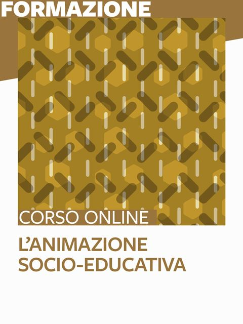L'animazione socio-educativa - Formazione per docenti, educatori, assistenti sociali, psicologi - Erickson