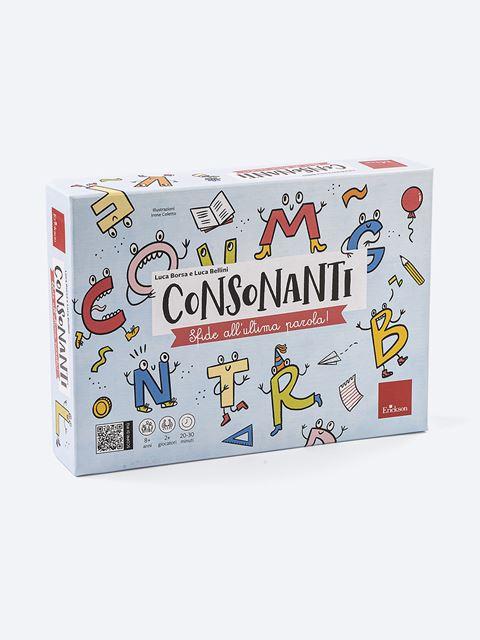 Consonanti - Libri e corsi su DSA, disturbi specifici apprendimento - Erickson