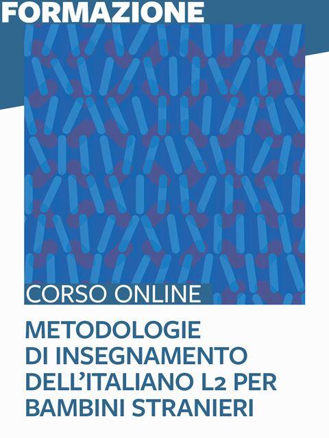 Metodologie di insegnamento dell'italiano L2 per bambini stranieri - Search-Formazione - Erickson