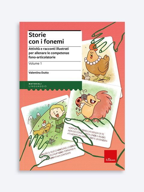 Storie con i fonemi - Area percettivo-fonologico-articolatoria - Erickson