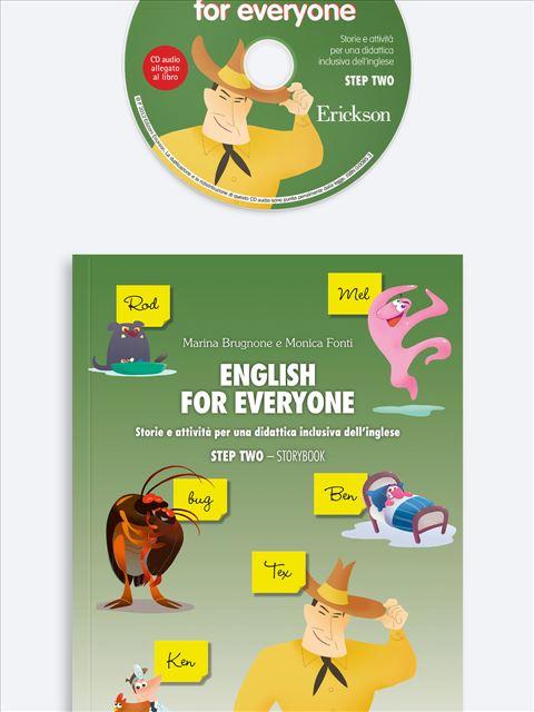 English for everyone - STEP TWO - I Bisogni Linguistici Specifici - Libri - Erickson