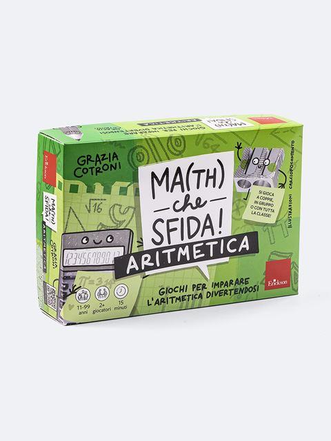 Ma(th) che sfida! - Aritmetica - Matematica scienze e tecnologia - Erickson