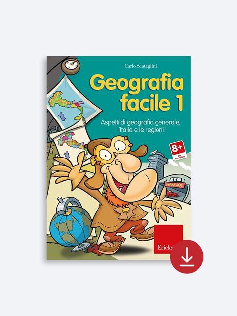 Geografia facile - App e software per Scuola, Autismo, Dislessia e DSA - Erickson 2