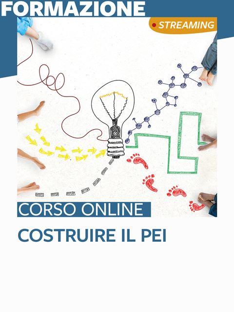 Costruire il PEI Iscrizione Corso online - Erickson Eshop