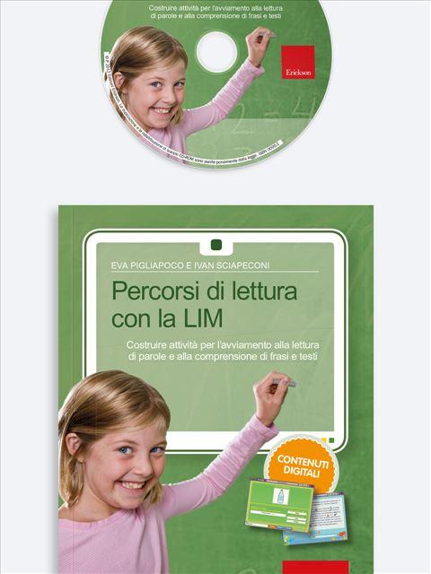 Percorsi di lettura con la LIM - App e software per Scuola, Autismo, Dislessia e DSA - Erickson