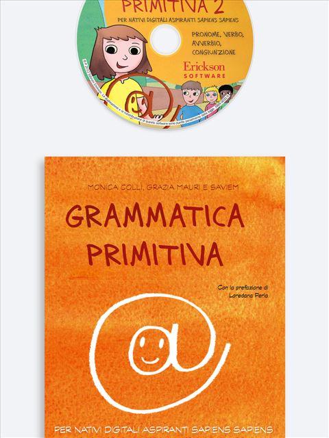 Grammatica primitiva - Volume 2 - App e software per Scuola, Autismo, Dislessia e DSA - Erickson 3