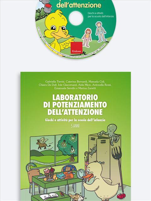 Laboratorio di potenziamento dell'attenzione - App e software per Scuola, Autismo, Dislessia e DSA - Erickson 3