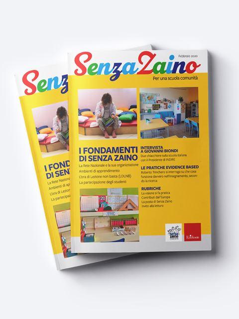 Senza zaino - Annata 2022 Abbonamento versione digitale - Erickson Eshop