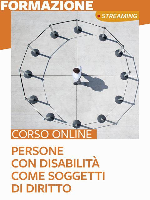 Le persone con disabilità come soggetti di diritto - Search - Erickson